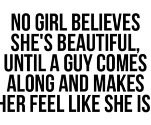 girl, beautiful, and quote image