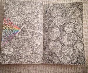 art, black, and circle image