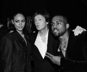 rihanna, kanye west, and Paul McCartney image
