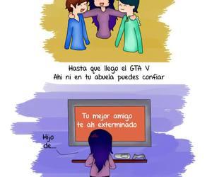 amigos, gta, and humor image