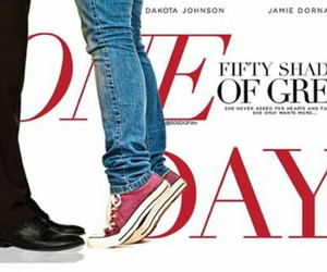 one day, christian grey, and fifty shades of grey image