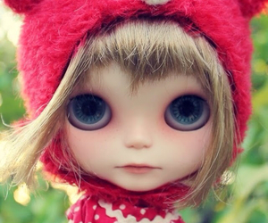 beautiful, doll, and blue eyes image