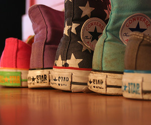 all star, shoes, and chucks image
