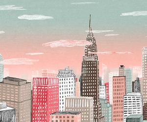 city, art, and new york image
