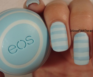 blue, eos, and lipbalm image