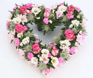 flowers and heart image