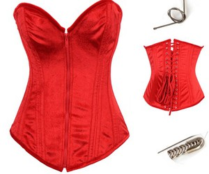wholesale corset, cheap corset, and steel boned corsets image