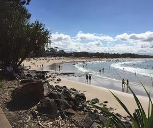 australia, beach, and view image