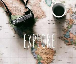 <3, coffee, and explore image