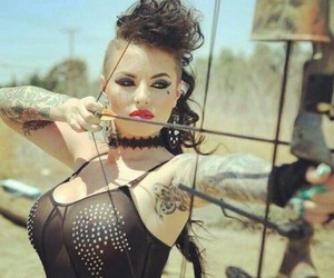 beautiful, strong, and christy mack image