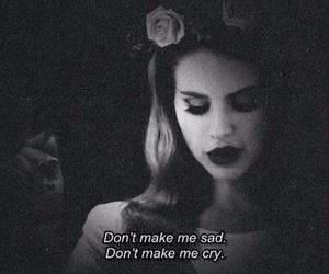 lana del rey, sad, and born to die image