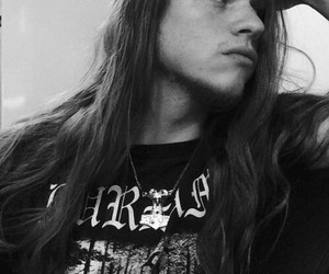 metalhead, long hair, and metal image