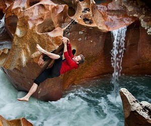 adventure, climb, and outdoor image