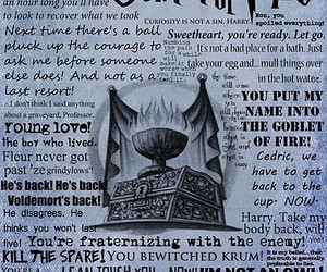 harry potter, goblet of fire, and quotes image
