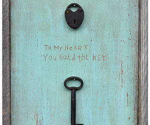 key and heart image