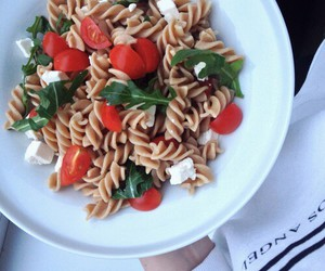 fitness, food, and pasta image