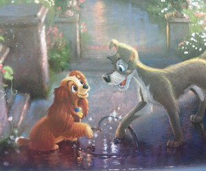 disney, dogs, and heart image