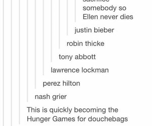 ellen, funny, and the hunger games image