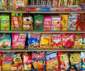 food, korean, and snack image