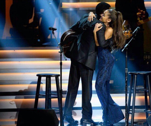 ariana grande, stevie wonder, and pretty image