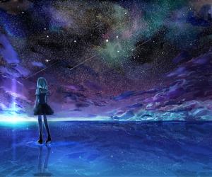anime and stars image