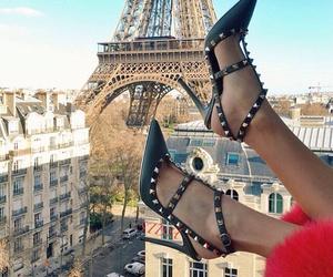fashion, paris, and shoes image