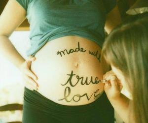 love, baby, and pregnant image