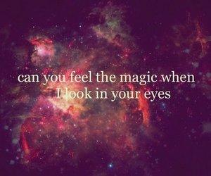 magic, love, and eyes image