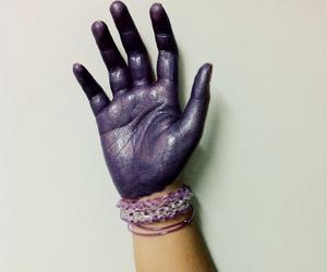 art, grunge, and hand image