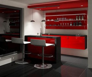 home bar design, ikea design, and mini bar design for home image
