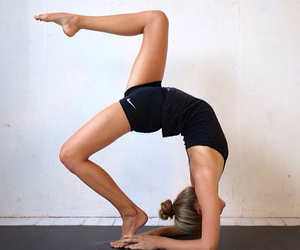 fitness, yoga, and fit image