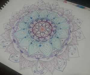 art, colors, and doodles image