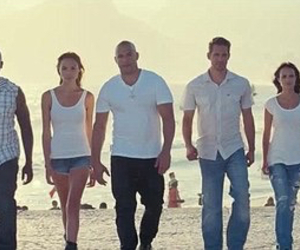 fast and furious, paul walker, and Vin Diesel image