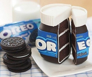oreo, food, and cake image