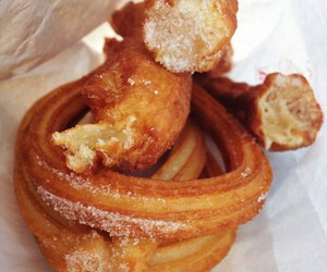 churros, delicious, and spanish image