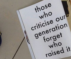 generation, quotes, and criticise image