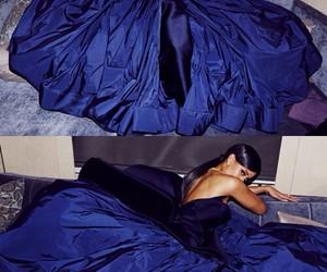 rihanna, dress, and blue image