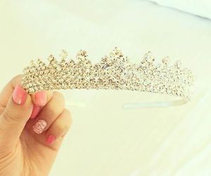 crown, diamonds, and tiara image