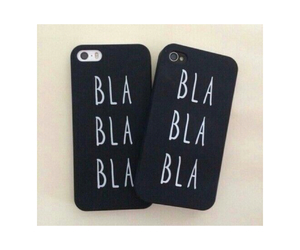 bla, cases, and iphone image