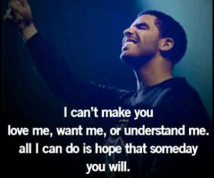 Drake, quote, and hope image
