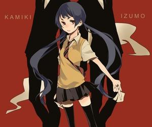 blue exorcist, ao no exorcist, and izumo kamiki image