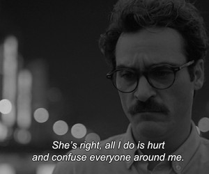 her, hurt, and quotes image