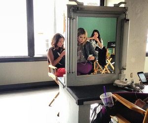 pll, mirror, and lucy hale image