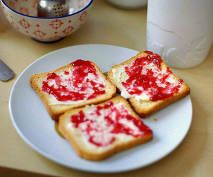 breakfast, jam, and jelly image