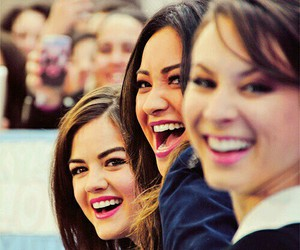 lucy hale, shay mitchell, and troian bellisario image