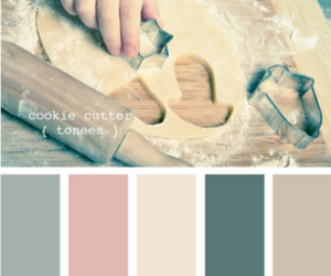 baking, color, and cookie cutter image