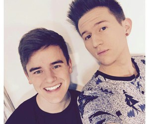 ricky dillon and connor franta image