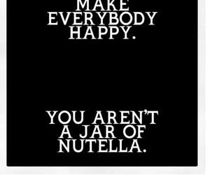 nutella, happy, and food image