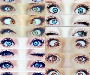 colors and eyes image