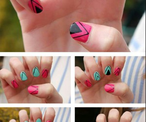diy, nails, and nail art image